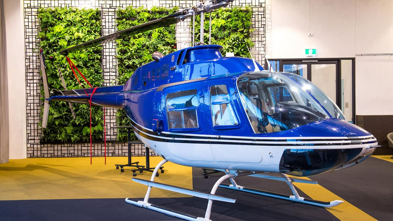 The Australian Events Centre Helicopter
