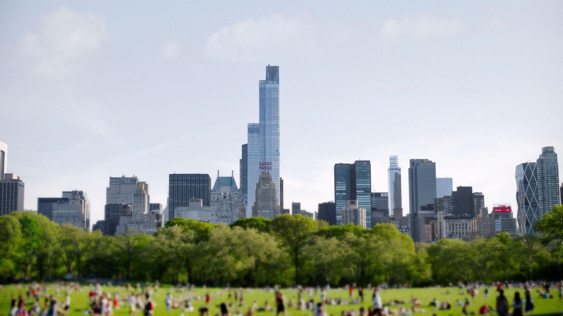 Park Hyatt New York: Central Park aerial view