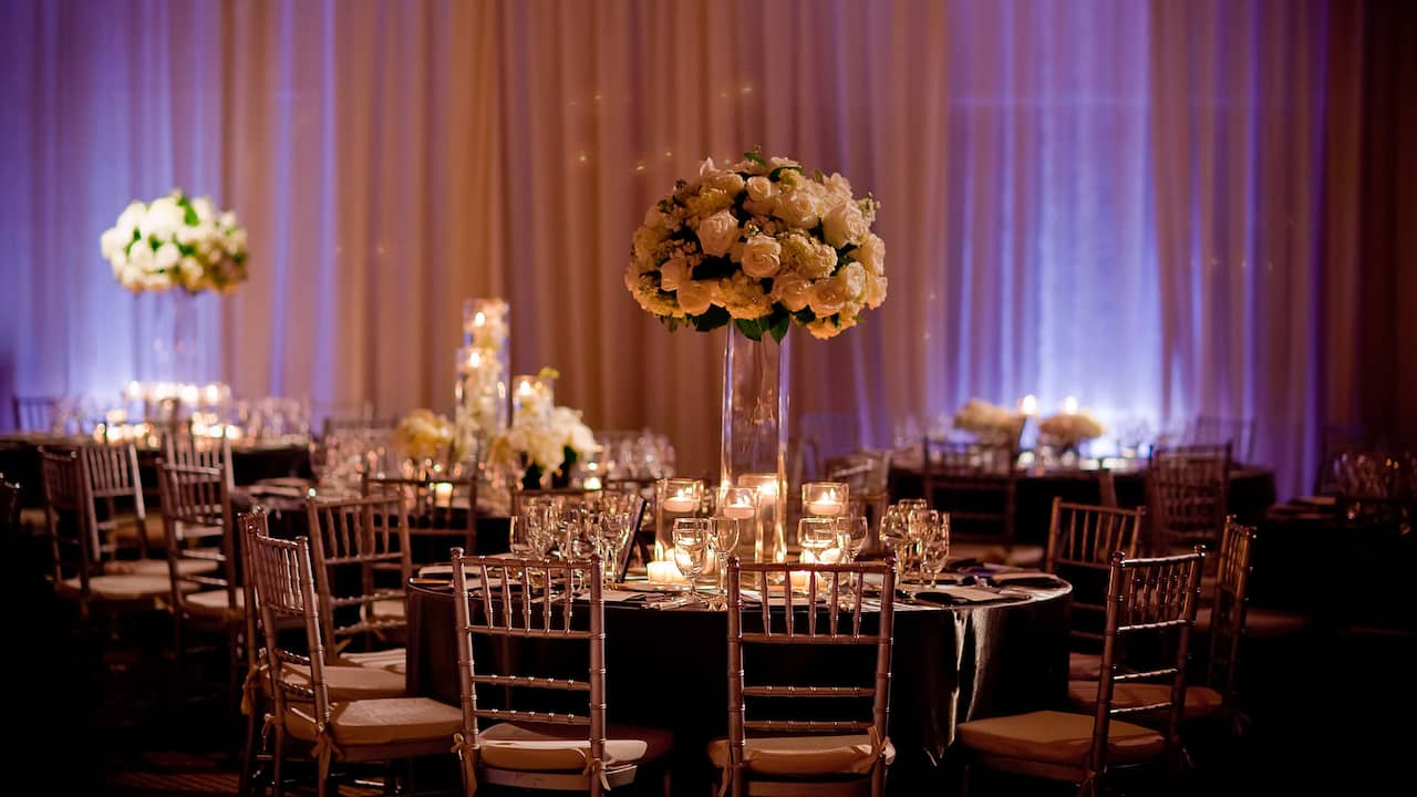 Wedding Ballroom Table