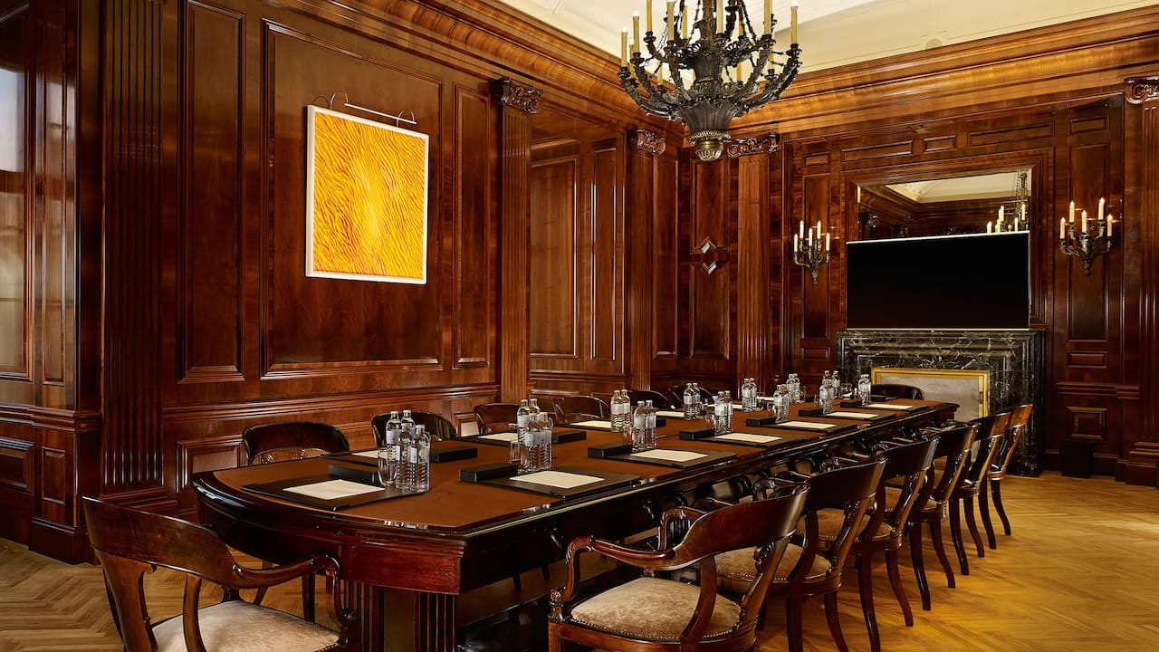 Park Hyatt Vienna Meeting Space