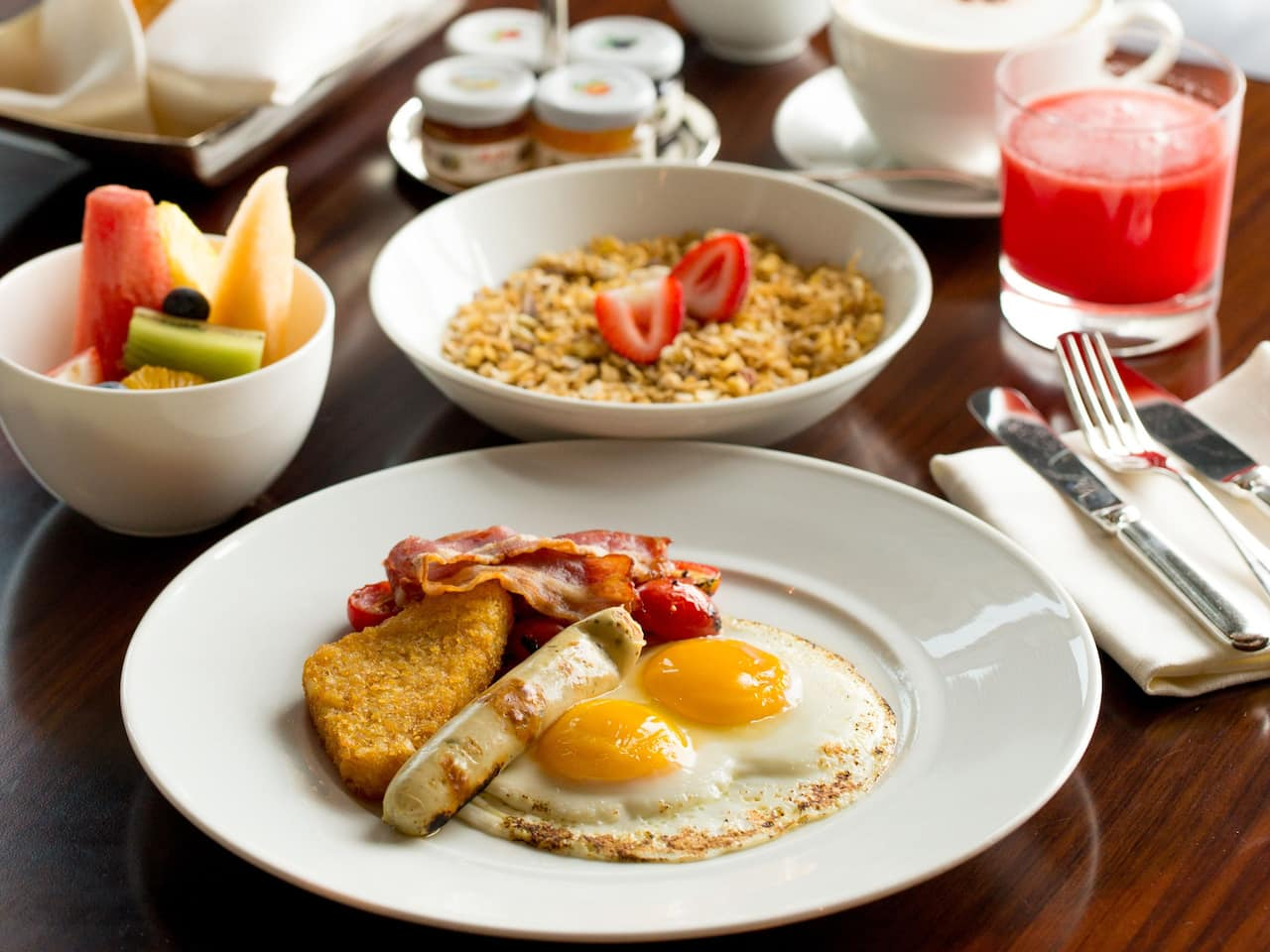 Room Service American Breakfast
