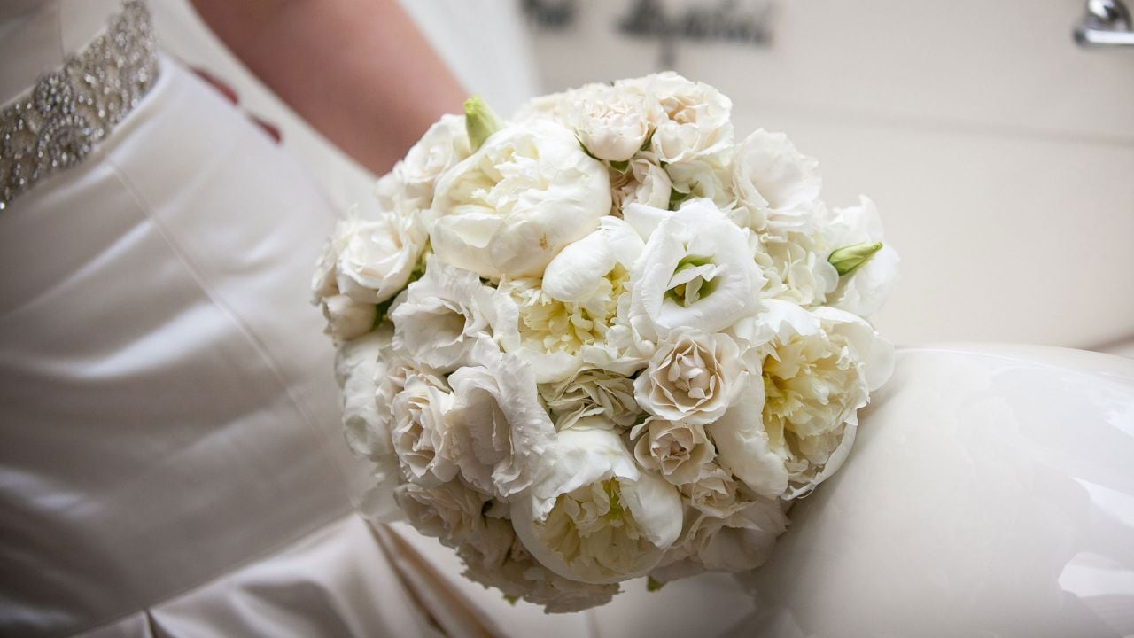 Bridal Bouquet at Manchester Grand Hyatt San Diego
