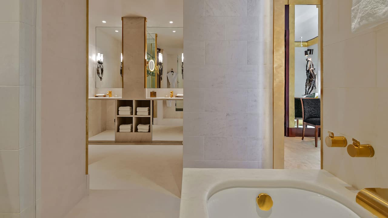 Bathroom at Park Hyatt Paris-Vendôme