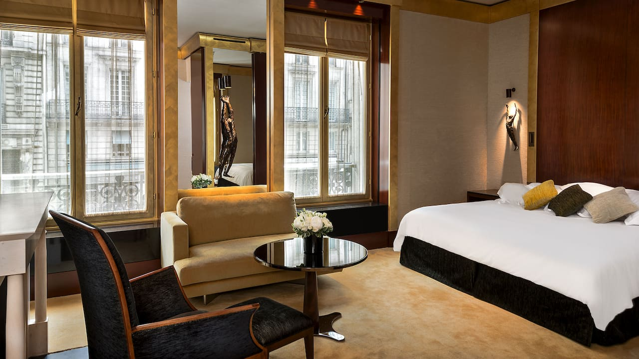 Suite Park Deluxe à l'Hôtel Park Hyatt Paris-Vendôme