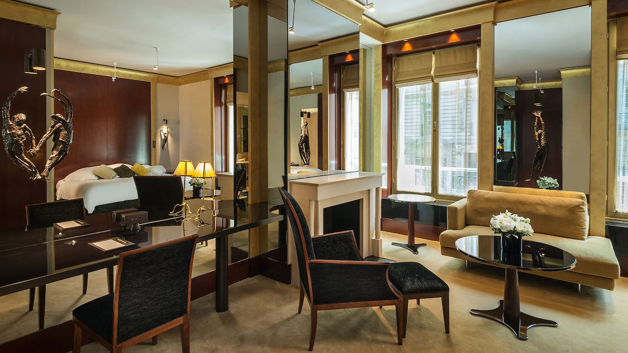 Junior Suite at Park Hyatt Paris-Vendôme