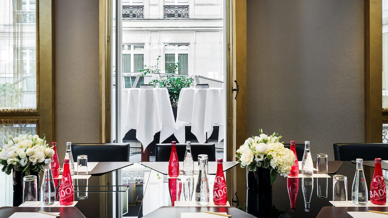 Meeting rooms with daylight at Hotel Park Hyatt Paris-Vendôme