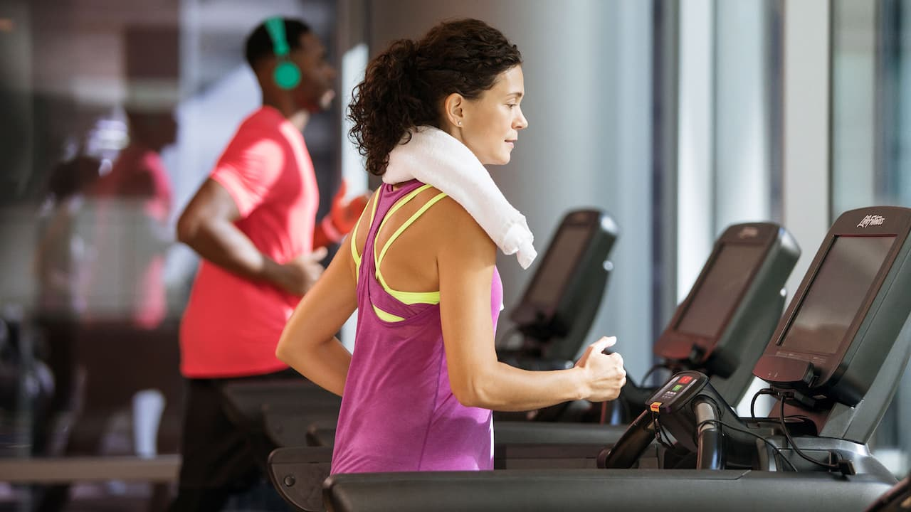Hyatt Regency Treadmills