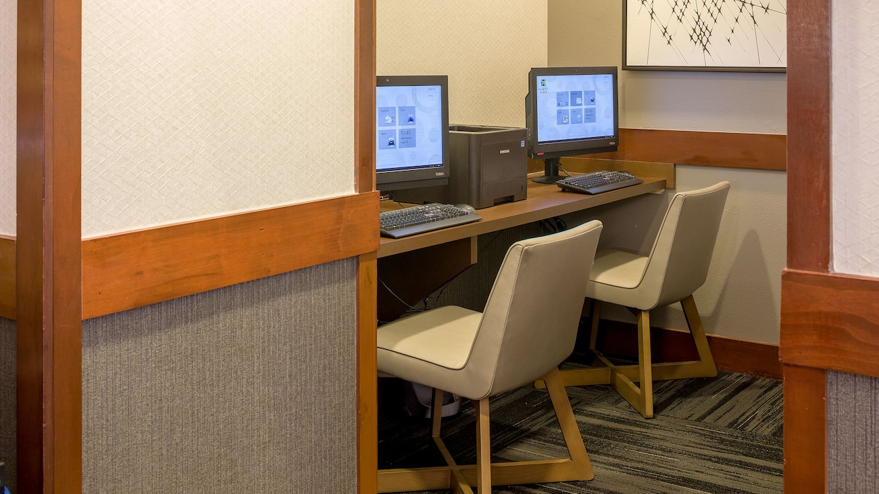 Convenient business center with printers at Hyatt Place Austin / Arboretum