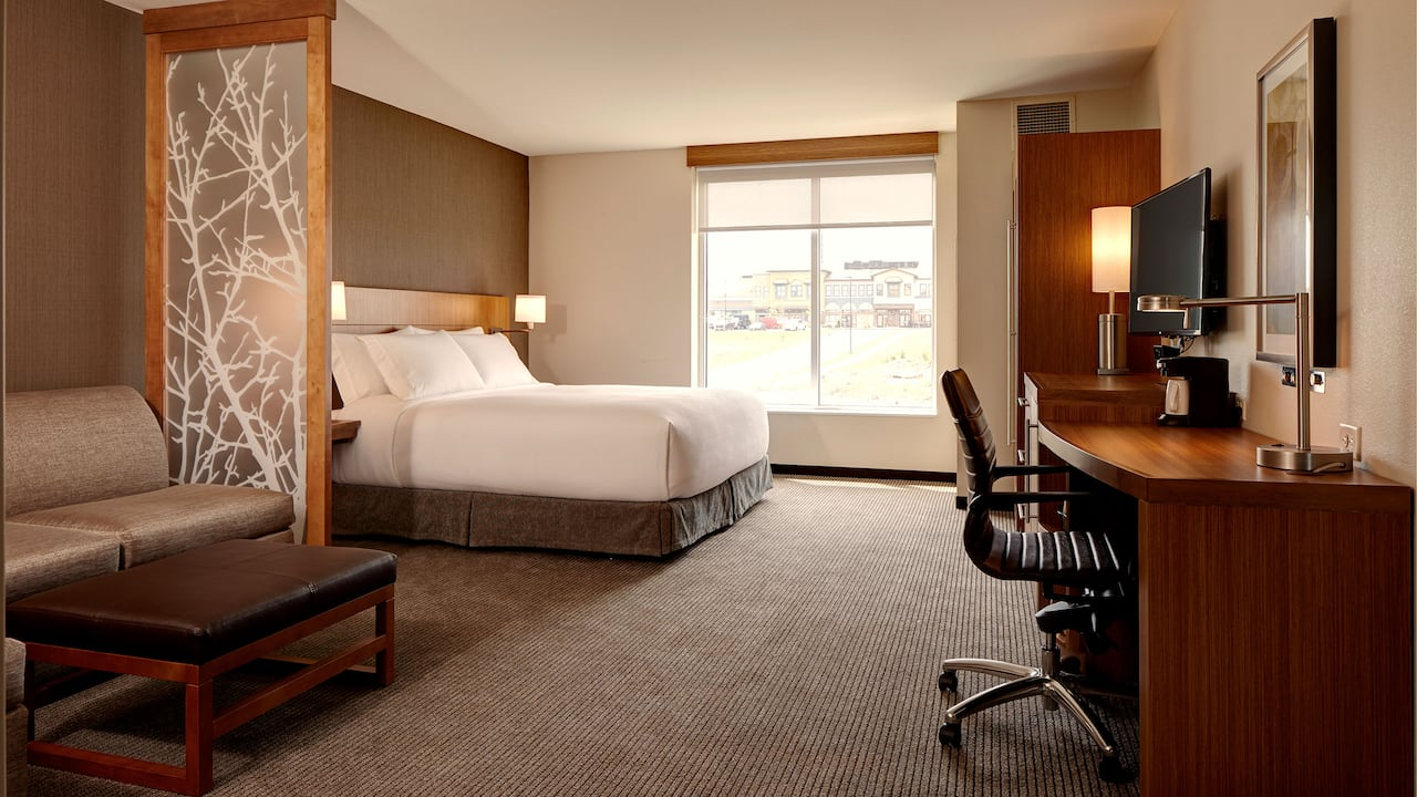ADA King Guest Room - Hyatt Place Madison/Verona