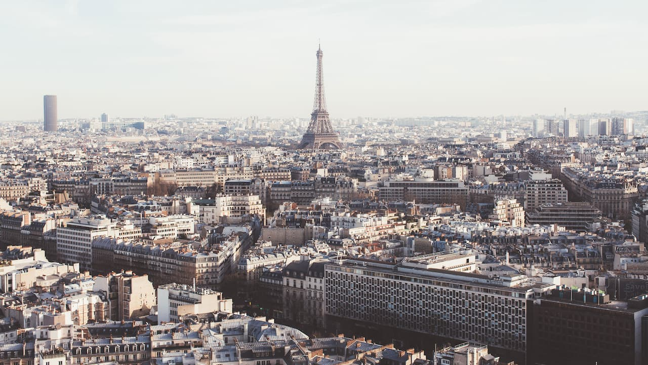 Vue de l'hôtel Hyatt Regency Paris Etoile