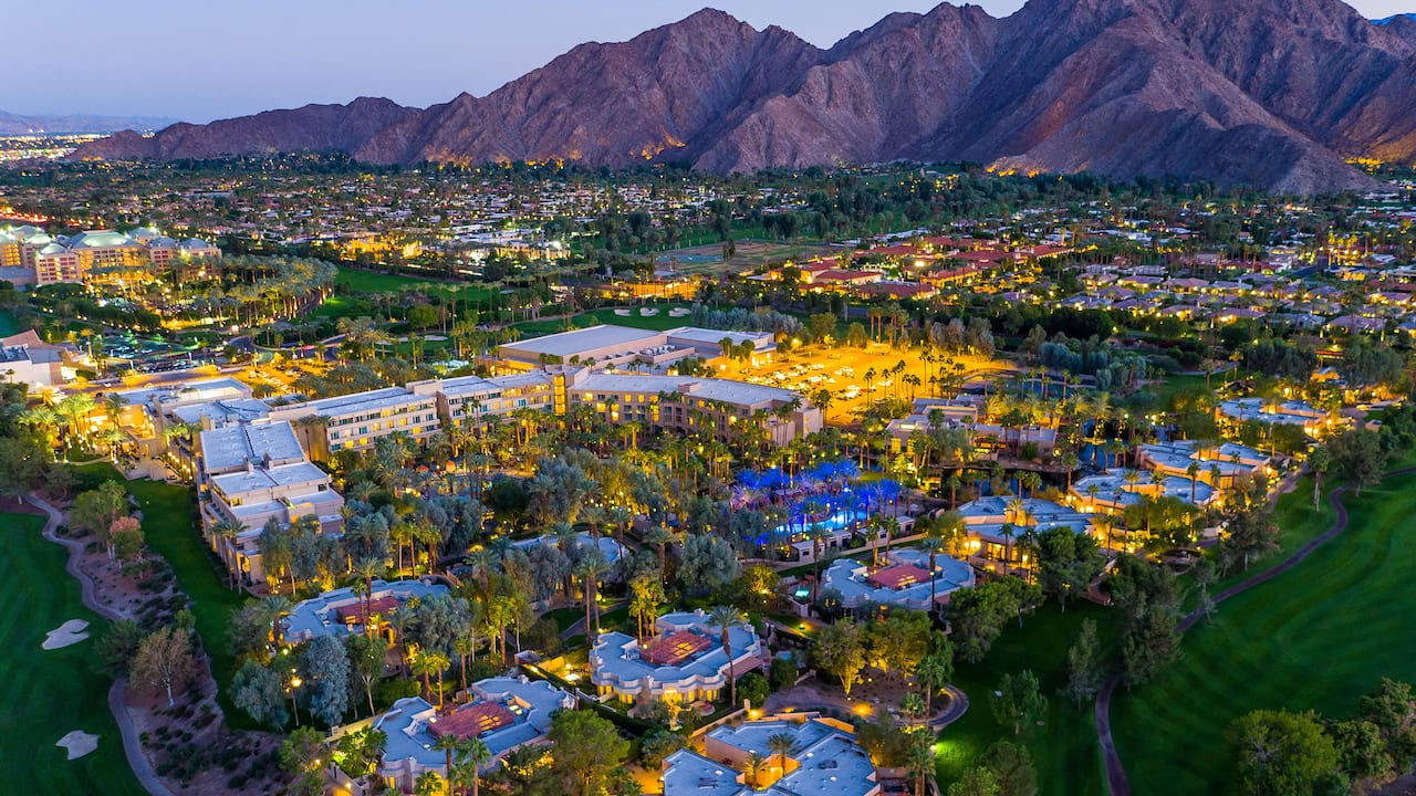 Aerial Indian Wells View