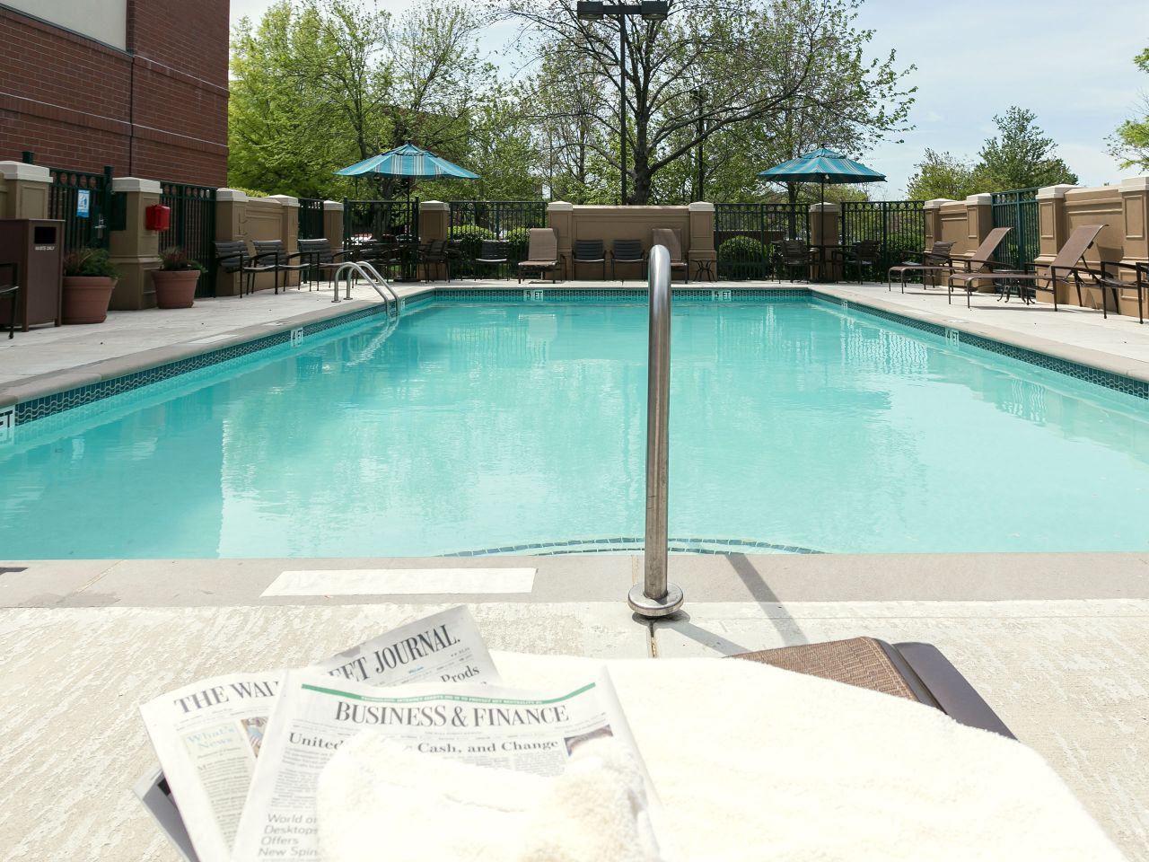 Pool Newspaper