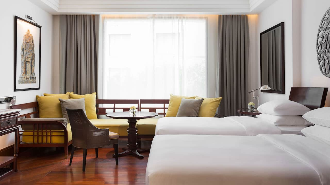 Luxury 5-star hotel in Siem Reap 2 Twin Bed