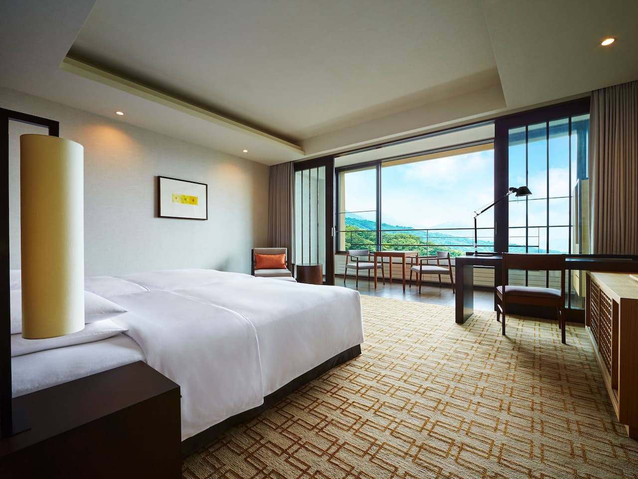 Hyatt Regency Hakone Resort & Spa | Mountain View Twin Room