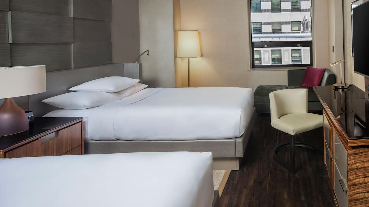 Grand Hyatt New York Double Deluxe Bed