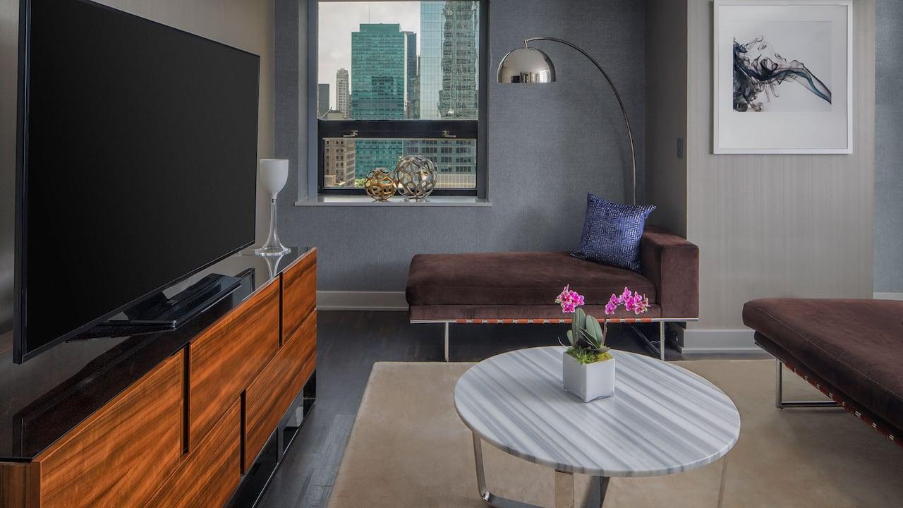 Grand Hyatt New York VIP Suite Living