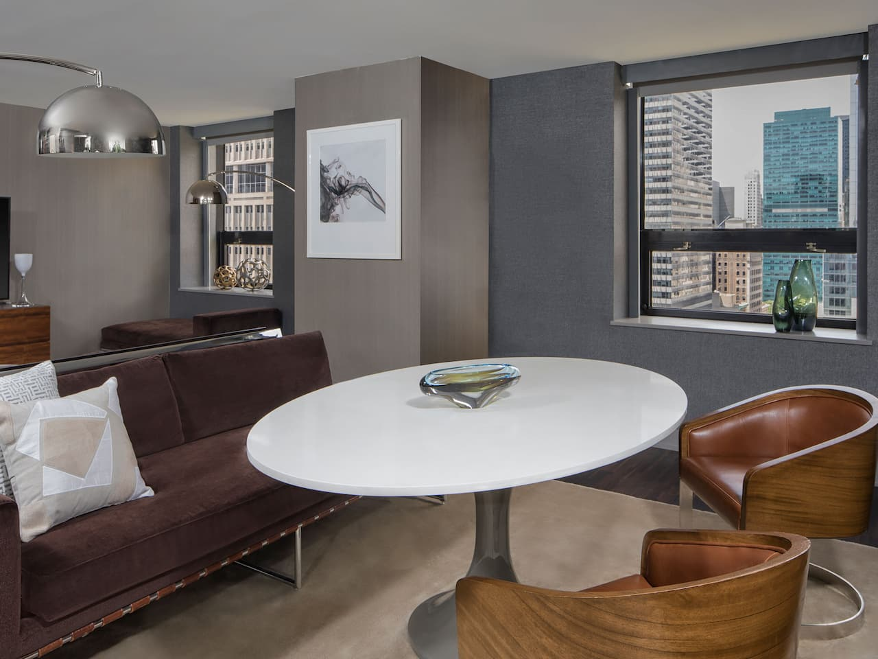 Grand Hyatt New York VIP Suite Dining