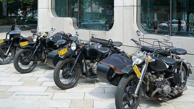Andaz XINTIANDI, SHANGHAI Motorcycle