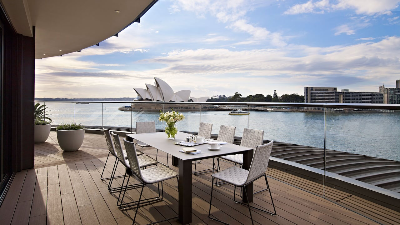 Sydney Suite Outdoor Terrace