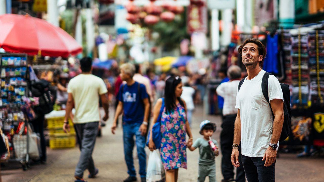 Tourist Petaling Street