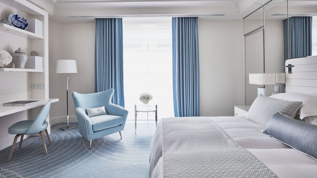 Premium Room Blue Twin