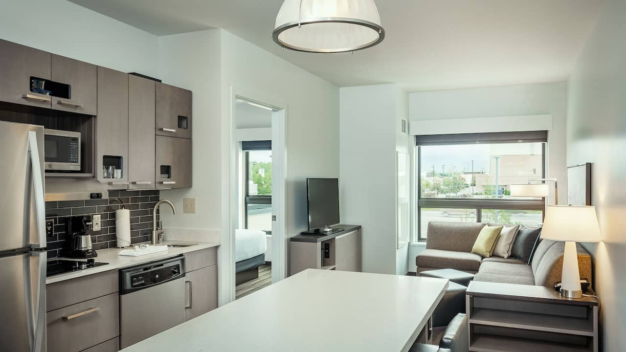 One Bedroom Kitchen Suite