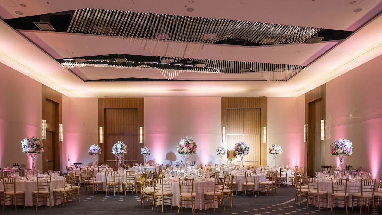 Wedding Reception Hyatt Regency Tysons Corner Center