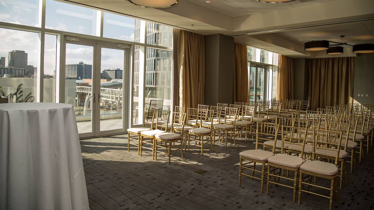 Wedding Space Hyatt Regency Tysons Corner Center