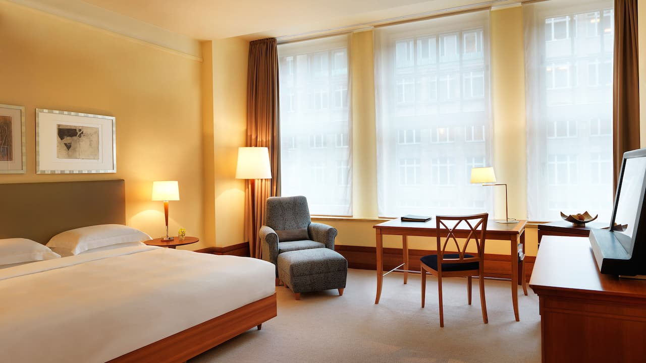 1 king bed junior suite with club lounge access at Park Hyatt Hamburg