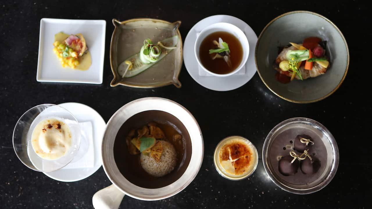Siem Reap luxury hotel Cambodian food