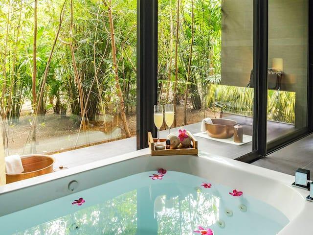 Spa Tub Treatment Suite