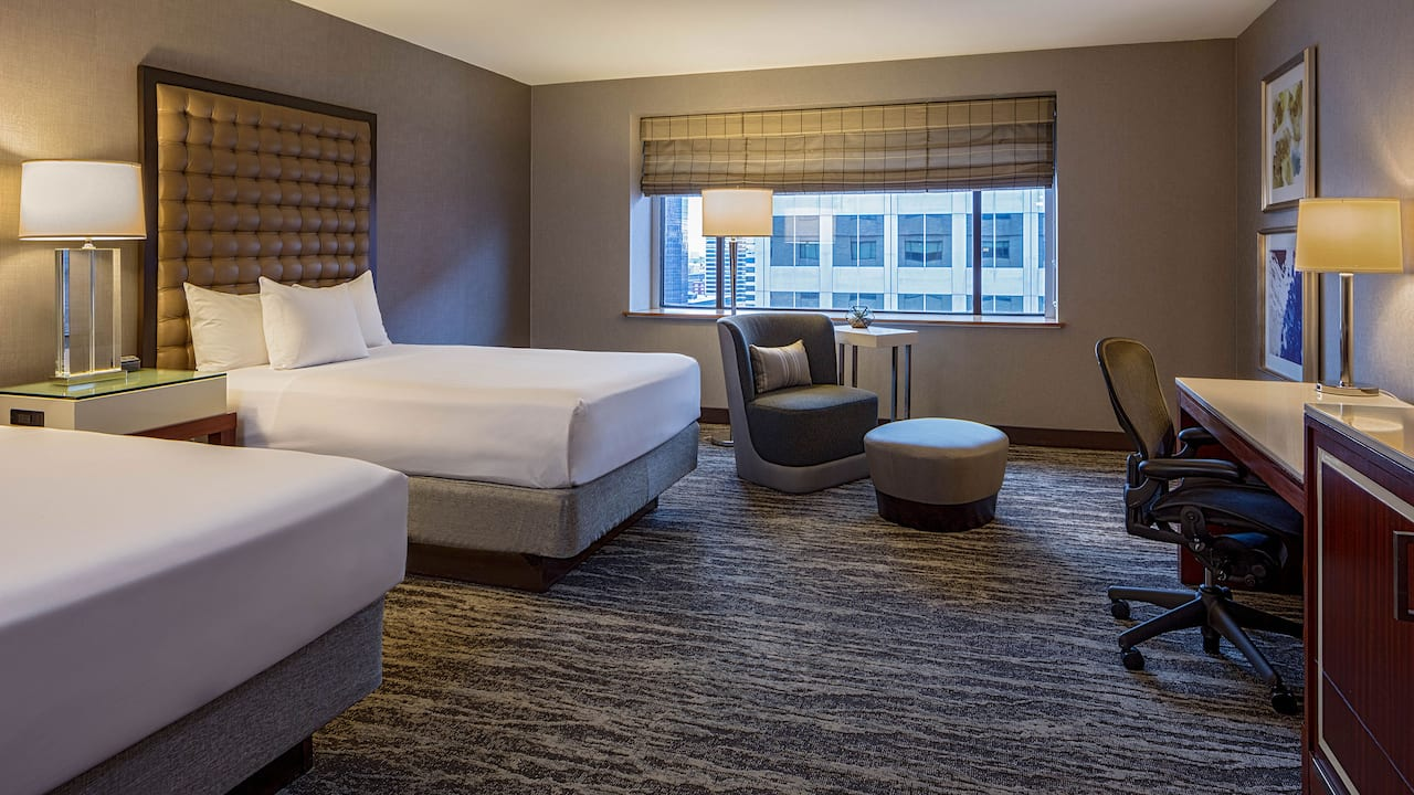 Hyatt Regency St Louis Two Beds Deluxe