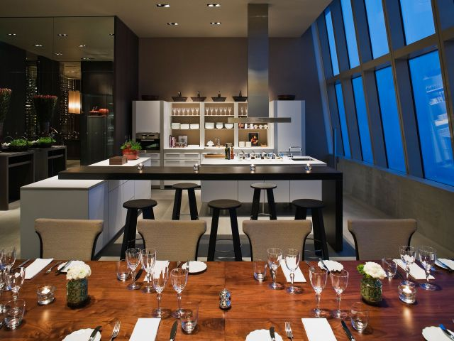 Private Dining Room at Night