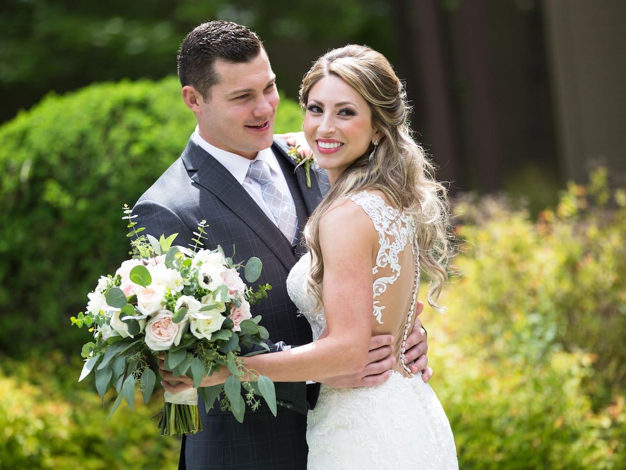Wedding Bride and Groom Hyatt Regency Lake Tahoe Resort, Spa & Casino