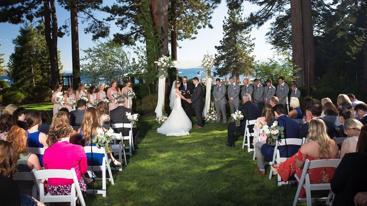 wedding Ceremony Hyatt Regency Lake Tahoe Resort, Spa & Casino