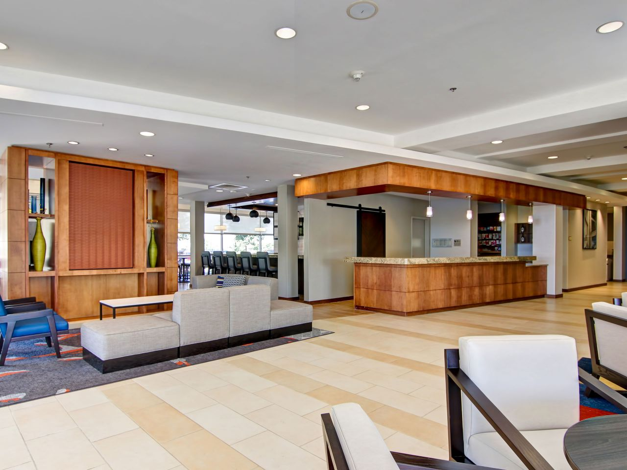Hyatt House Lobby Area