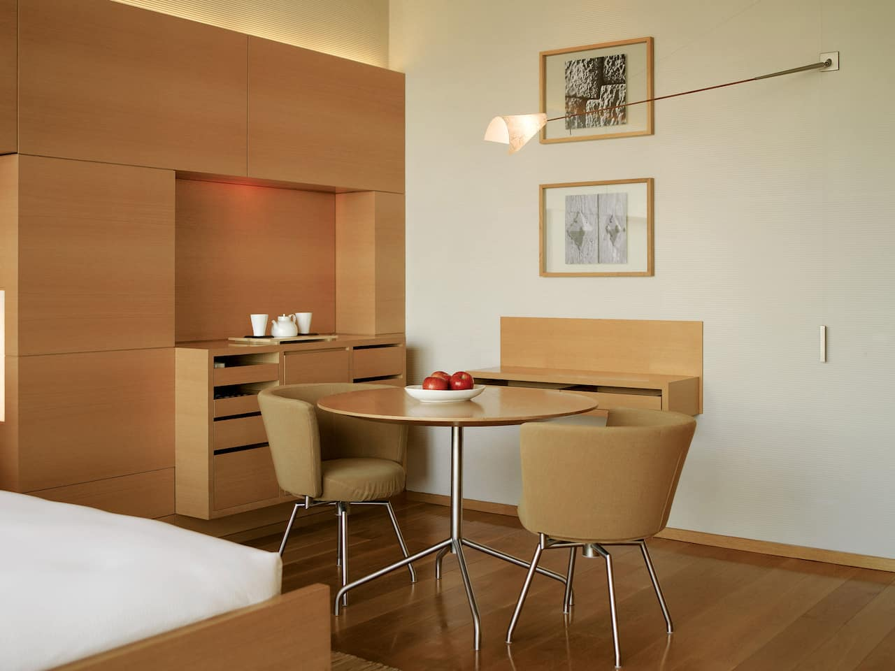 韩国首尔柏悦酒店豪华客房布局