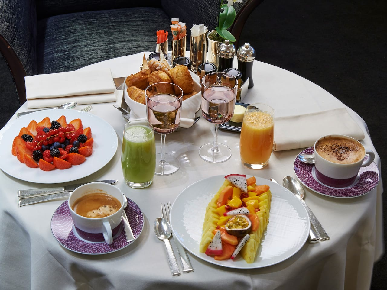 Breakfast in Bed Room service at 5* Hotel Park Hyatt Paris-Vendôme