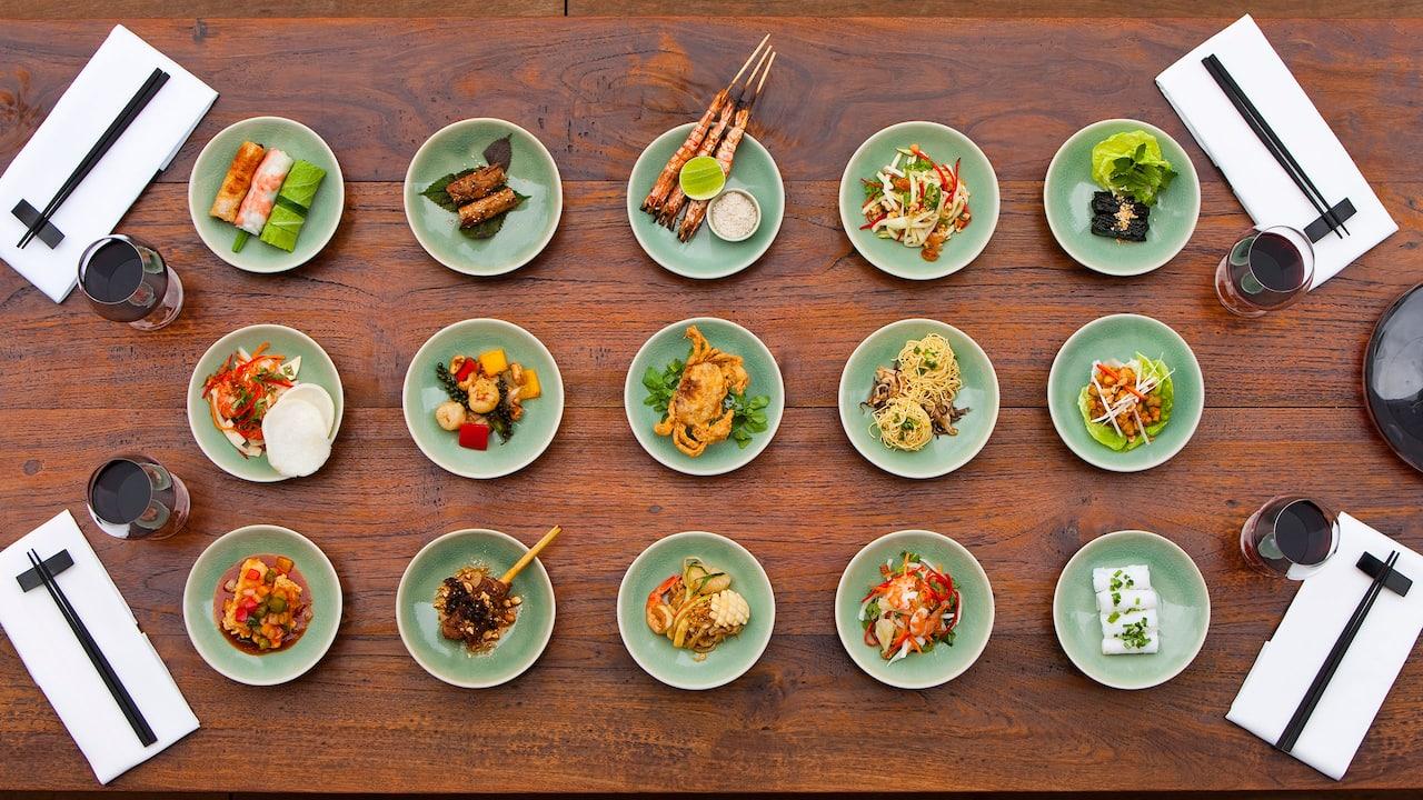 Grazing Menu Round Dishes