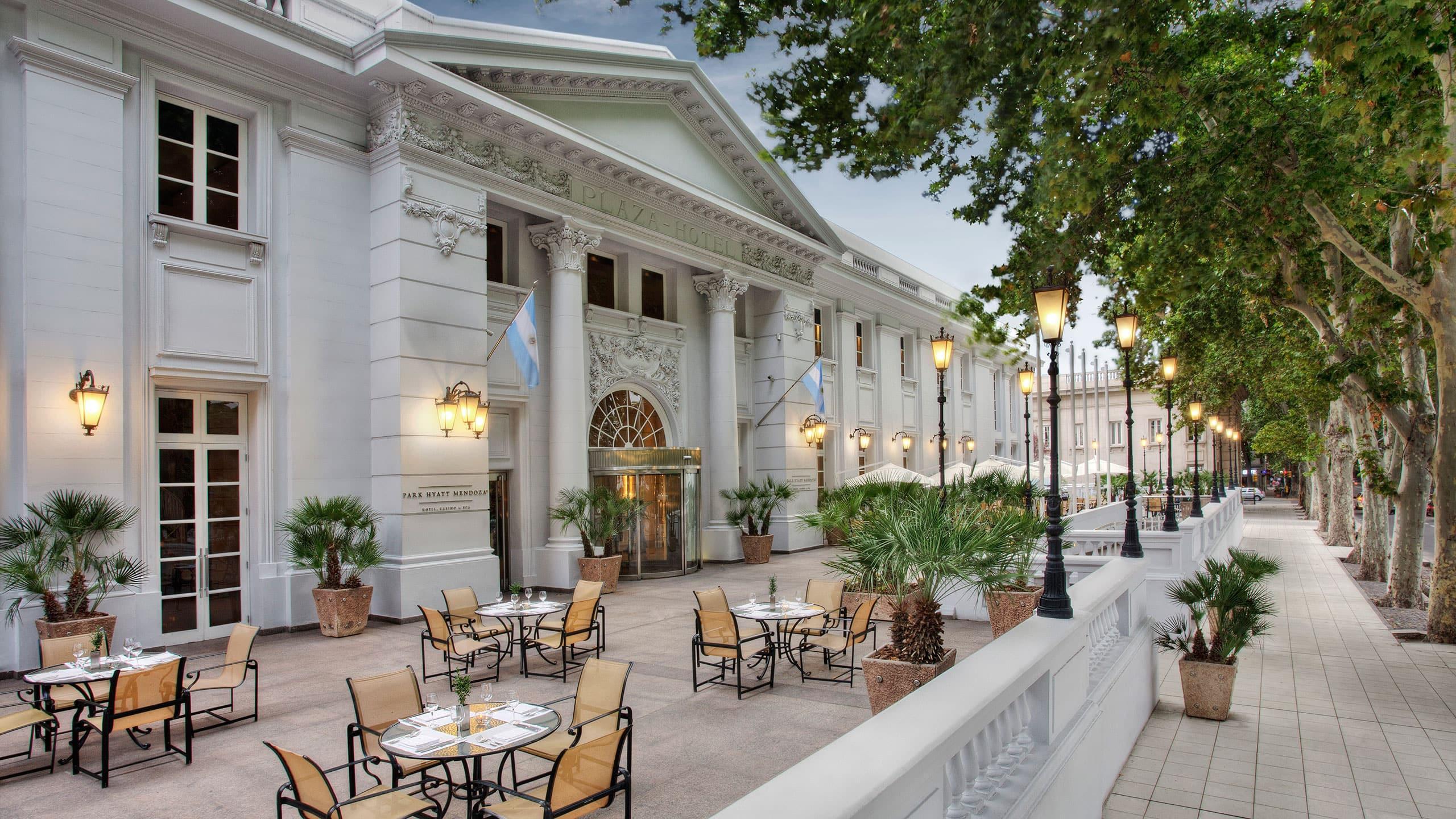 5 Stars Hotel In Mendoza Park Hyatt Mendoza Hotel Casino