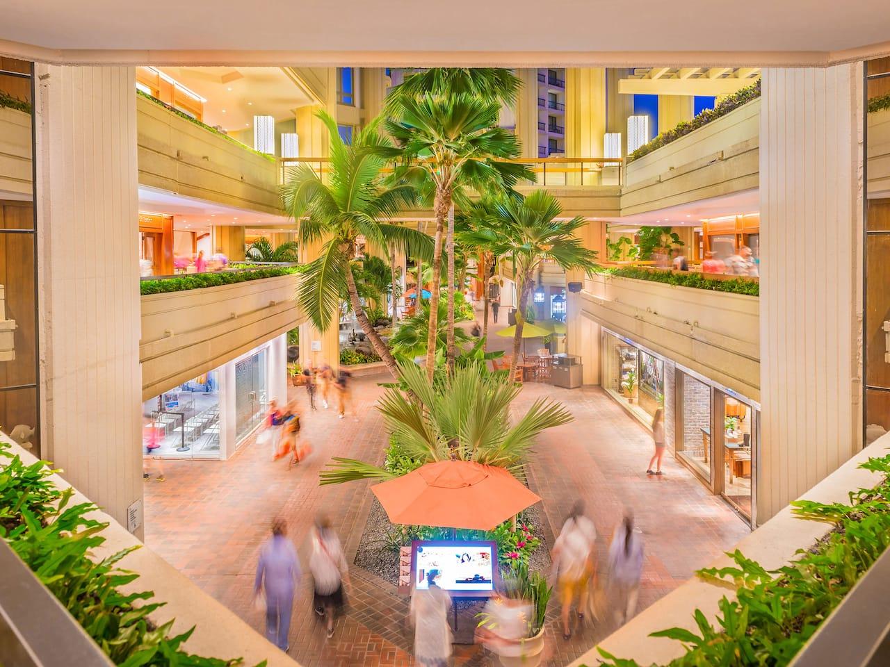 Hyatt Regency Waikiki Atrium