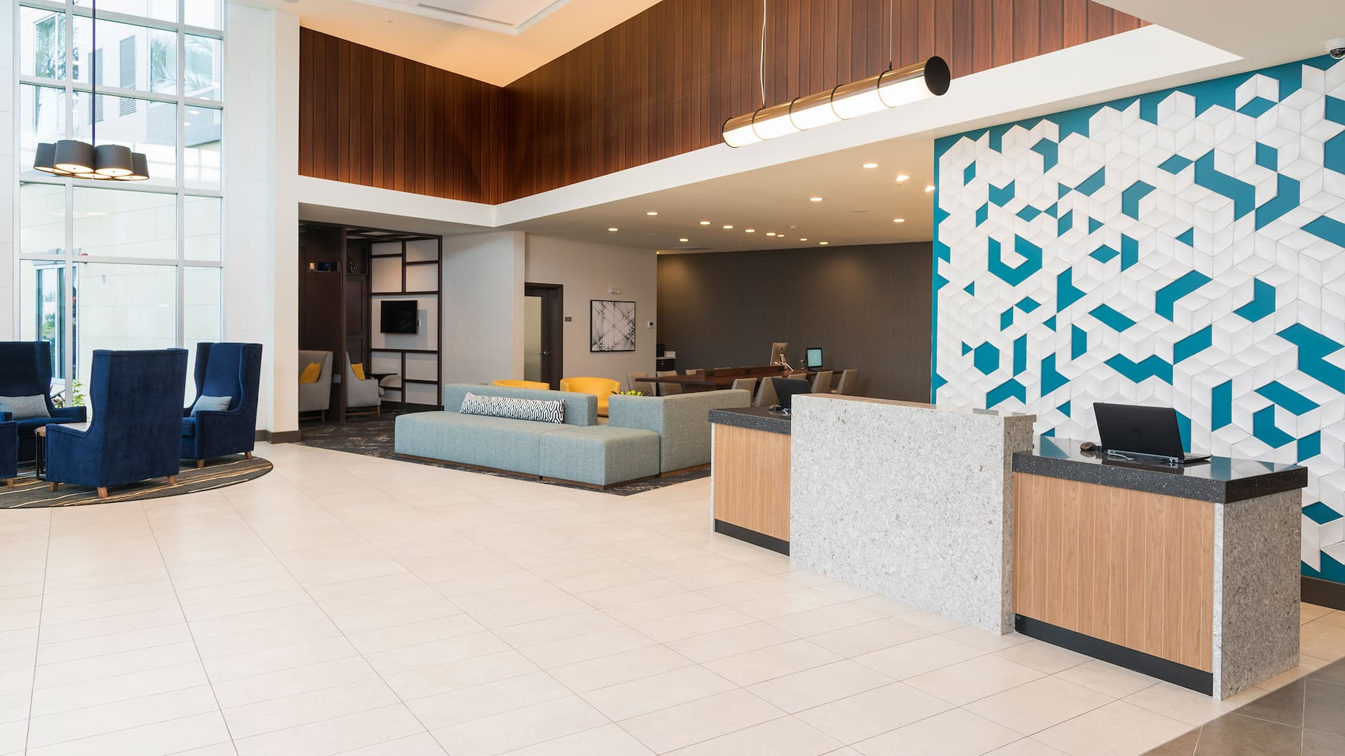 Hyatt Place Sarasota Lakewood Ranch Lobby