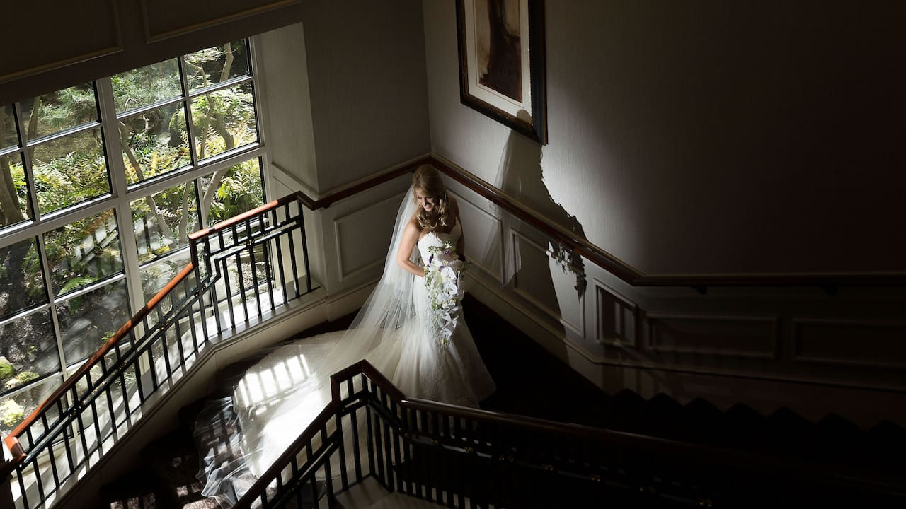 Bride at Wedding Grand Hyatt Atlanta