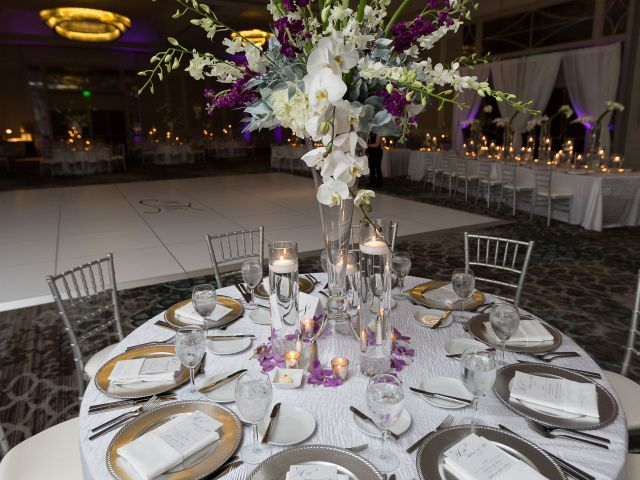 Wedding table banquet room