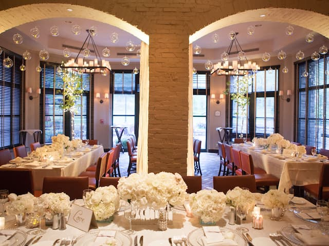 Park Hyatt Beaver Creek Wedding Dining Tables