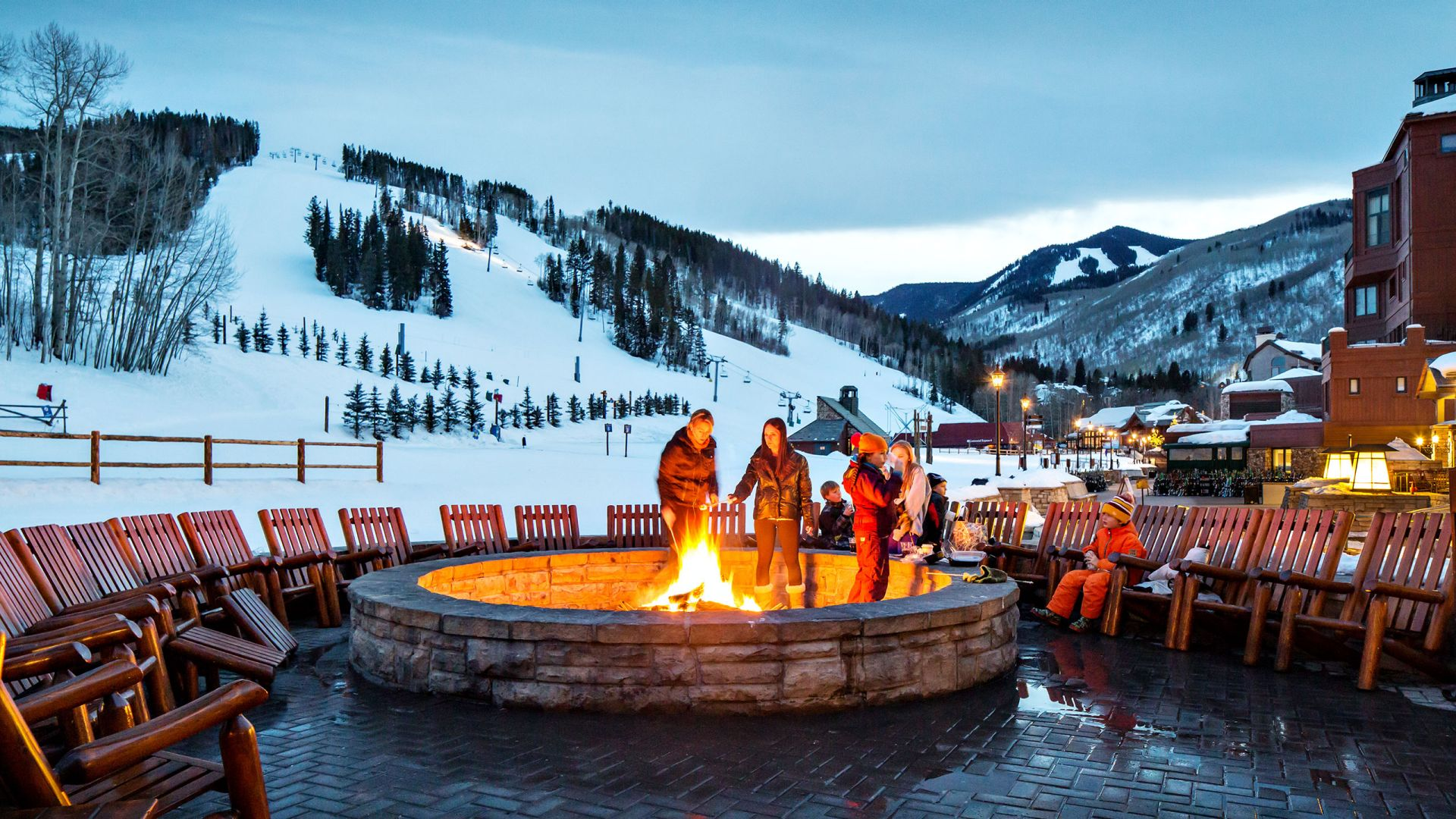 Park Hyatt Beaver Creek S'mores Fire Evening