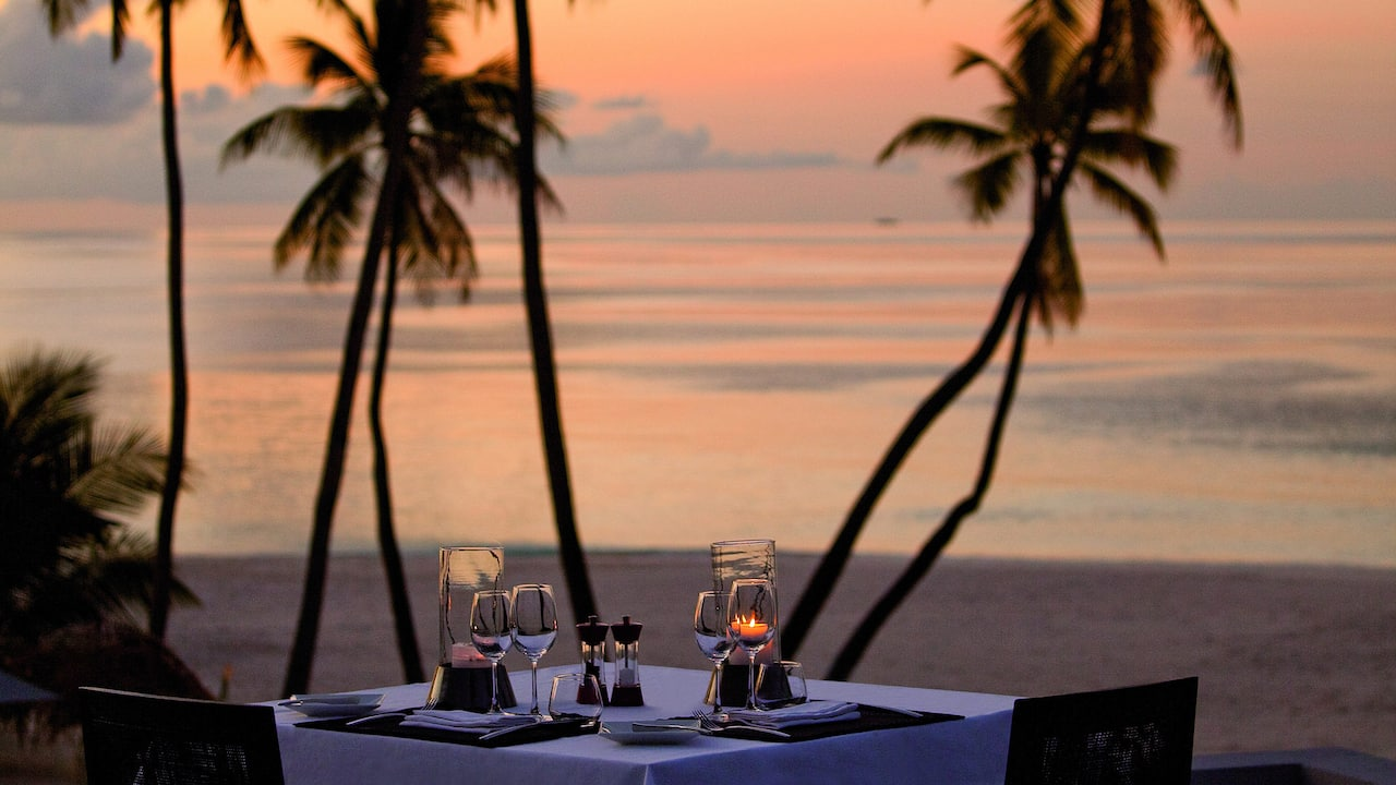 Best Luxury Maldives Resort Private Dining
