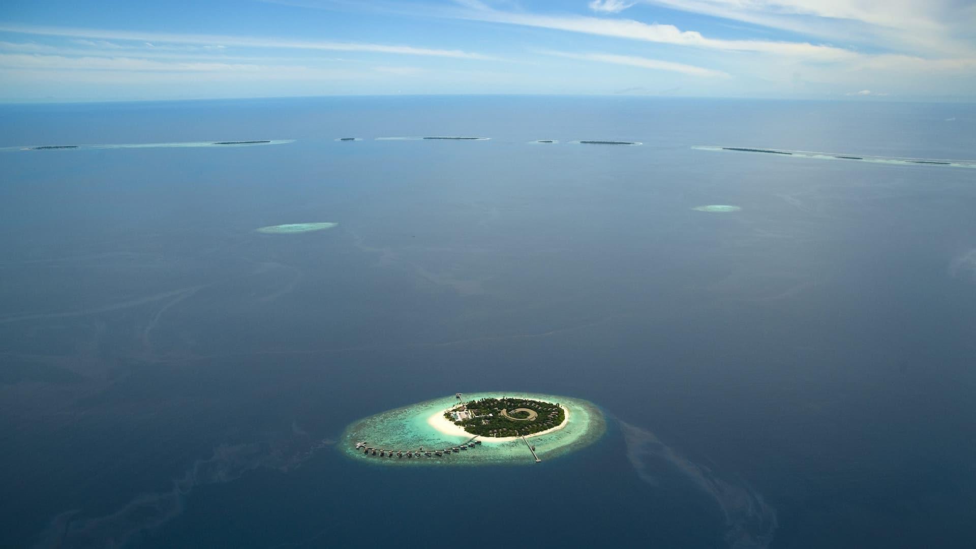 Park Hyatt Maldives aerial