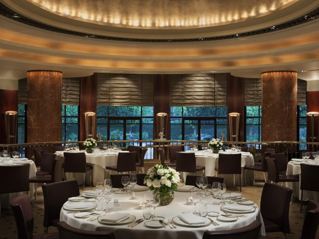 Park Hyatt Melbourne Dining room set up