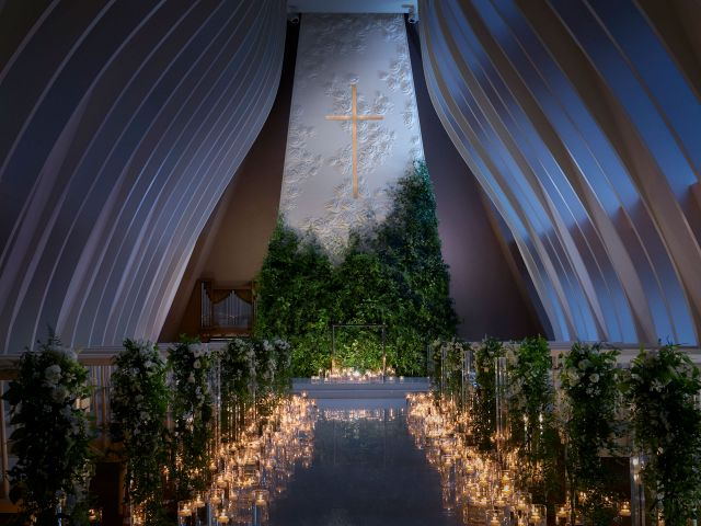 Wedding Chapel at night